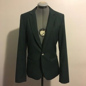 Vintage Green Tailored Blazer